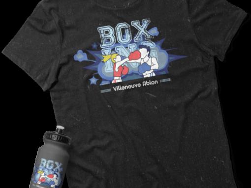 """Création du logo pour """"Villeneuve Ablon Boxing Club"""""""