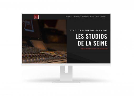 """Développement du site web """"Les Studios de la Seine"""""""