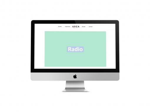 """Développement du site web """"ARCA Productions"""""""